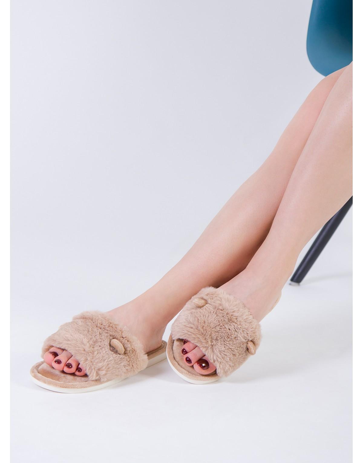 "Тапочки INDEFINI ""Camel"""