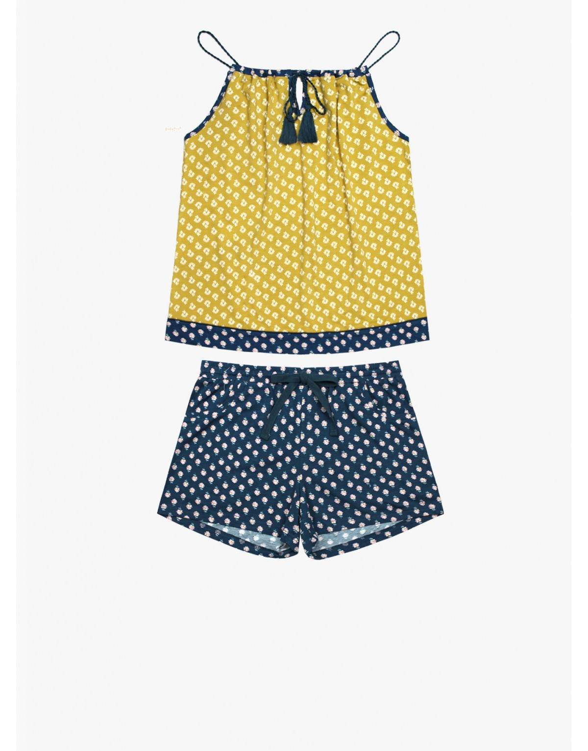 "Женская пижама INDEFINI ""Sunny flower"""