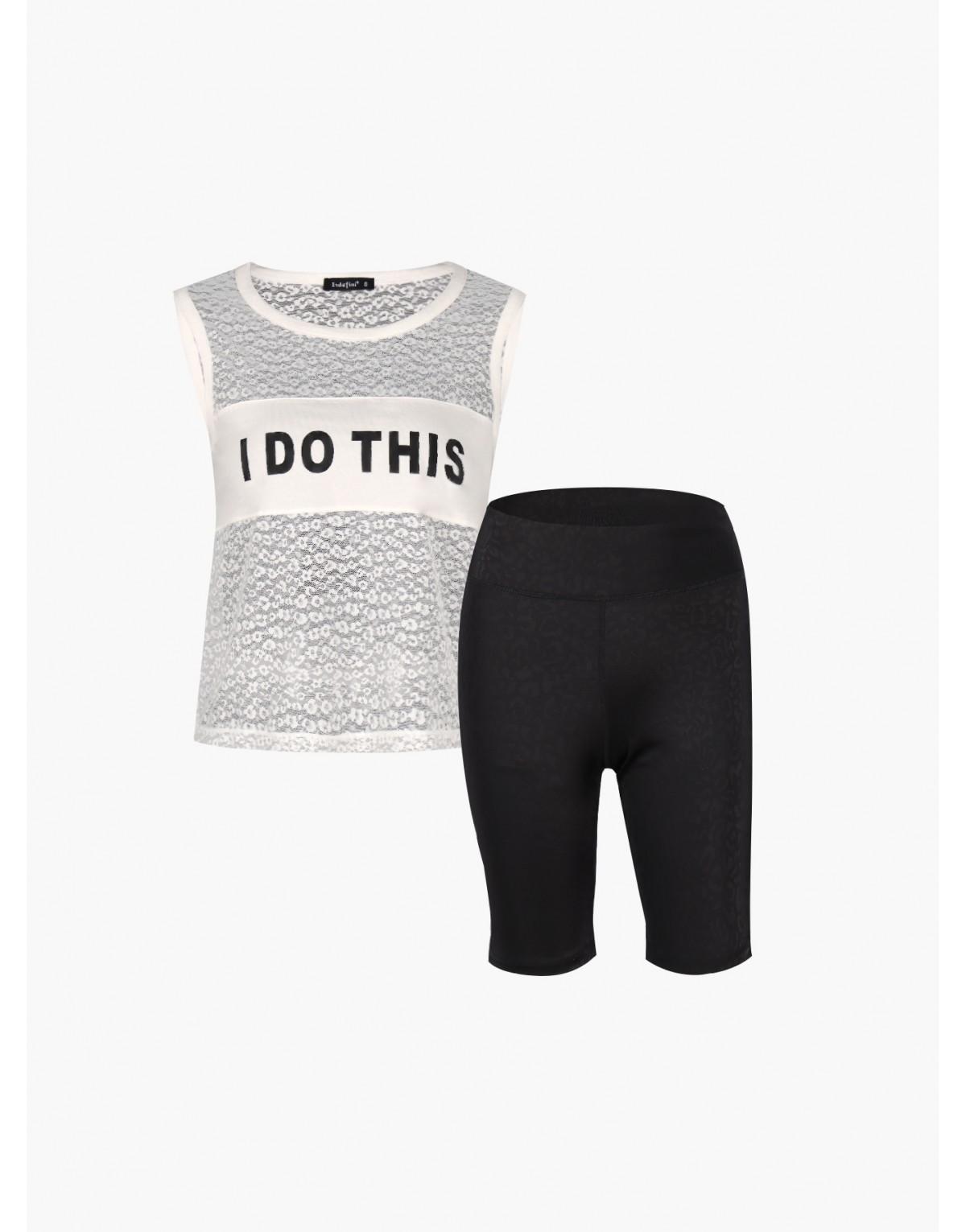 "Женская пижама INDEFINI ""I do this"""