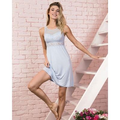 Сорочка или пижама? А в чем спите вы? ⠀ Поделитесь в комментариях 👇 ⠀ На фото, наш фаворит! Сорочка небесно-голубого цвета, из мягкого бамбука в которой безумно комфортно! При этом, вы будете выглядеть как в красивом и утонченном платье, ведь верх сделан из кружева😍 ⠀ 💰 Стоимость: 1870₽ ✂Размеры: 44/46/48/50 ⚜Состав: 95% бамбук, 5%эластан/90% нейлон, 10% эластан Модель: 429013 (для удобного поиска на сайте) ⠀ ______ ⠀ 🛍Наш шоу-рум: 📍м. Кузьминки Сормовский проезд 11с7 📍М. Бауманская ул. Нижняя Красносельская 35, стр.9 этаж 4 офис 401 ⠀  Отправляем в любые города и регионы Доставка от 2000 руб. БЕСПЛАТНА ⠀  Для заказа : Whatsapp: +79252179151 Позвоните нам 📞 +79252179151  Либо выбирайте удобный способ для заказа по ссылке в шапке профиля @iindefini_official ⠀ ⠀